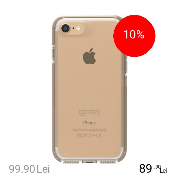 Gear4 Husa Capac Spate Piccadilly Auriu Apple iPhone 7, iPhone 8