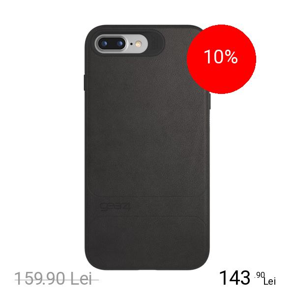 Gear4 Husa Capac Spate Mayfair Negru Apple iPhone 7 Plus, iPhone 8 Plus