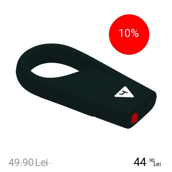 EMTEC Stick USB 4GB Hang USB 2.0 D200 Negru