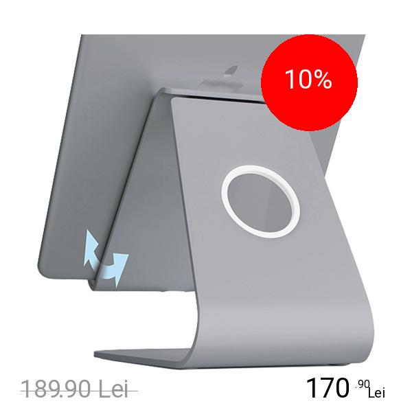 RAIN DESIGN Suport Birou mStand Plus Ajustabil Pentru Tableta Negru