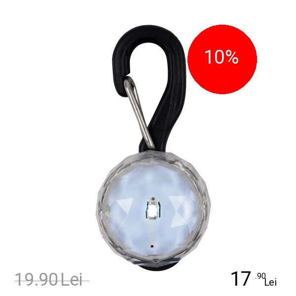 NITE IZE Led Iluminator Cu Carabina Pentru Caini Jewel Crystal