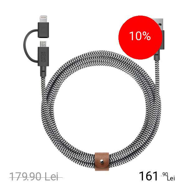 NATIVE UNION Cablu Date Belt 2 M Twinhead