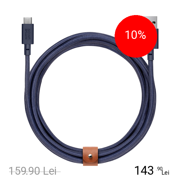 NATIVE UNION Cablu Date Belt 3 M Type C