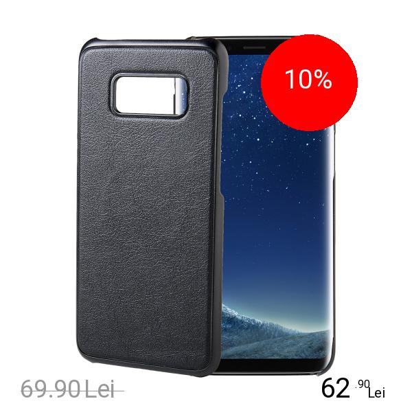 Celly Husa Capac Spate Ghost Cu Magnet Negru SAMSUNG Galaxy S8