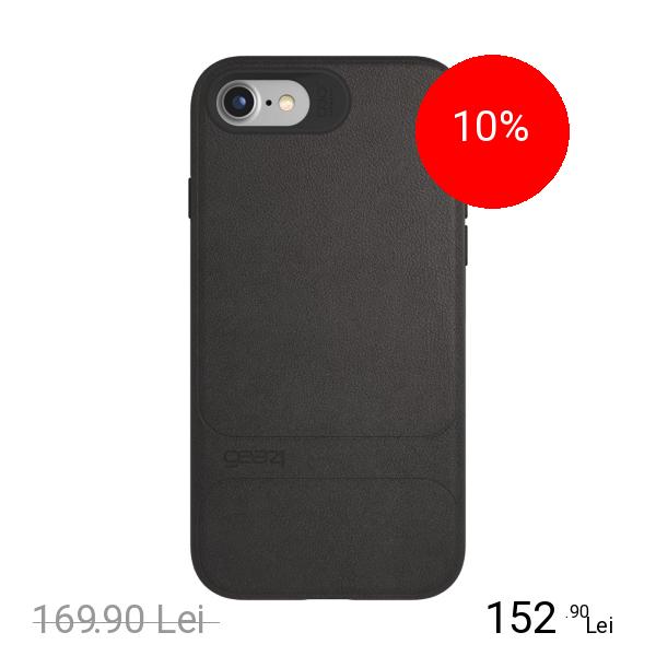Gear4 Husa Capac Spate D30 Mayfair Negru Apple iPhone 7, iPhone 8