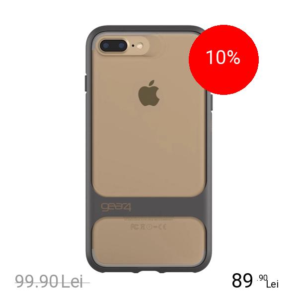 Gear4 Husa Capac spate Soho Auriu Apple iPhone 7 Plus, iPhone 8 Plus