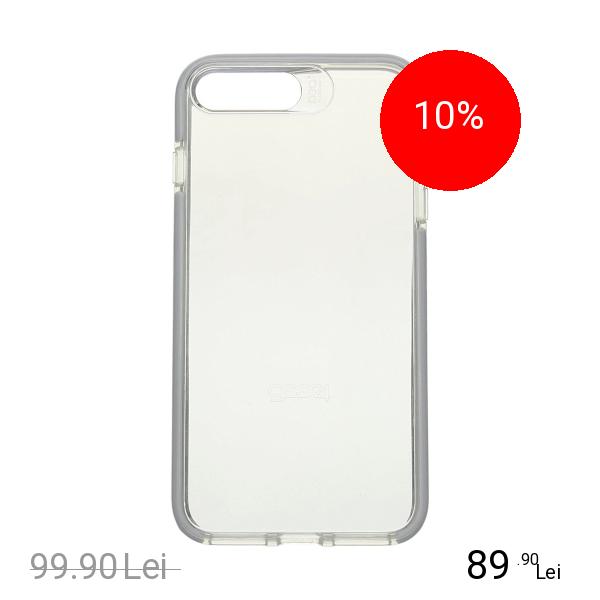 Gear4 Husa Capac Spate Piccadilly Argintiu Apple iPhone 7 Plus, iPhone 8 Plus