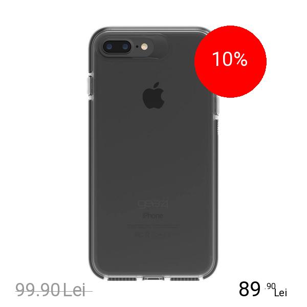 Gear4 Husa Capac Spate Piccadilly Negru Apple iPhone 7 Plus, iPhone 8 Plus