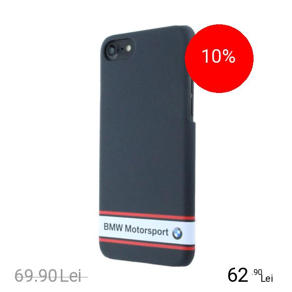 Bmw Husa Capac Spate Rubber Albastru Apple iPhone 7, iPhone 8
