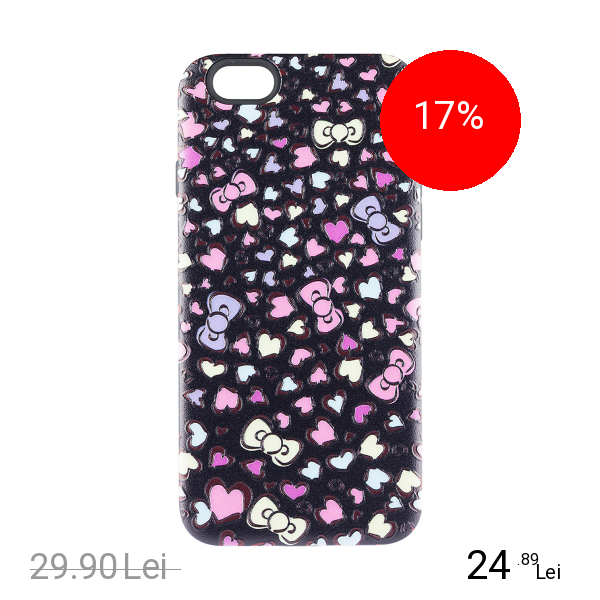STAR Husa Capac Spate Funny Heart Apple iPhone 7, iPhone 8