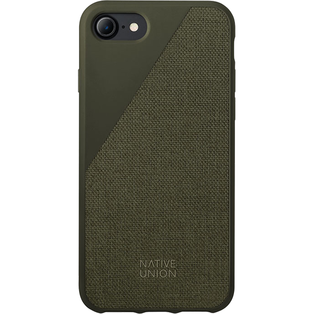 NATIVE UNION Husa Capac Spate Canvas Verde Apple iPhone 7, iPhone 8