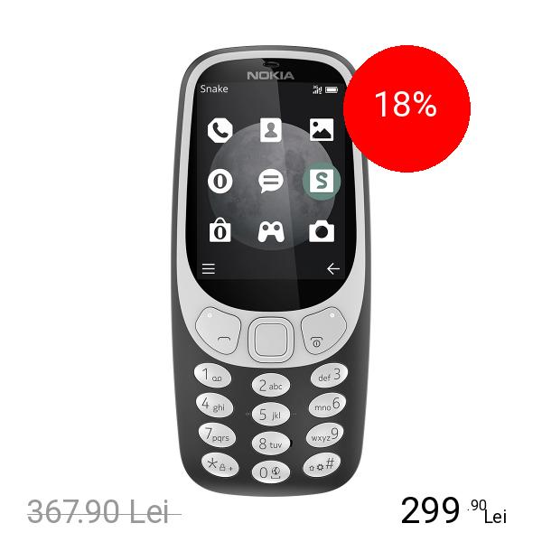 Nokia 3310 (2017) Dual Sim Negru
