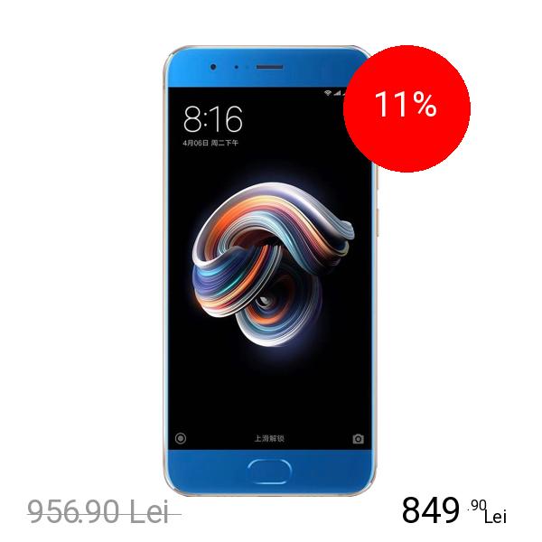 Xiaomi Mi Note 3 Dual Sim 64GB LTE 4G Albastru 6GB RAM
