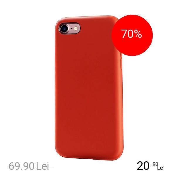 ZMEURINO Husa Capac spate Flexibila Rosu Apple iPhone 7, iPhone 8