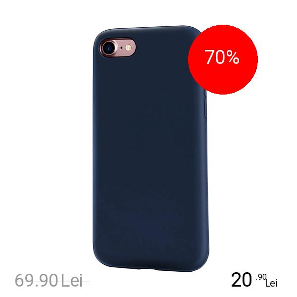 ZMEURINO Husa Capac spate Flexibila Albastru Apple iPhone 7, iPhone 8