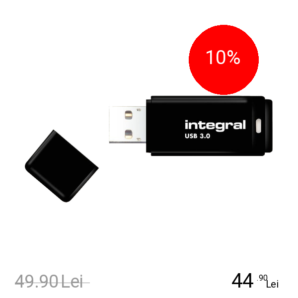 Integral Stick USB 8GB 3.0 Negru