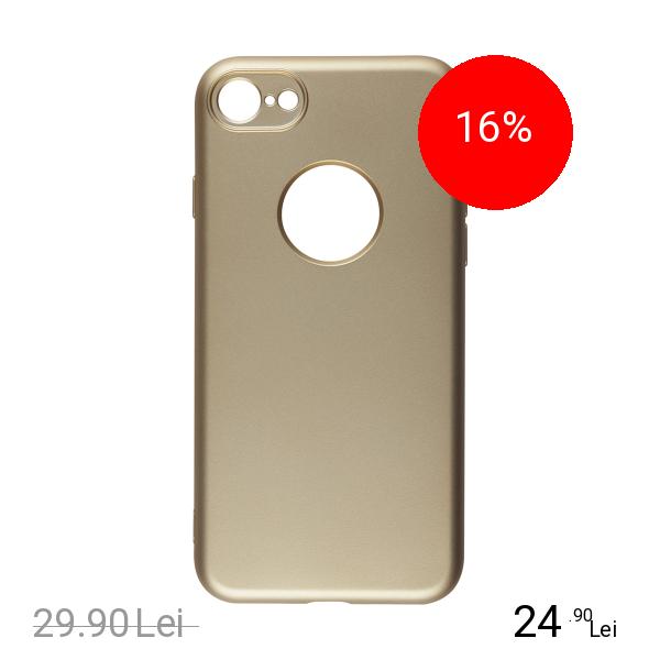 STAR Husa Capac spate Painted Auriu Apple iPhone 7, iPhone 8