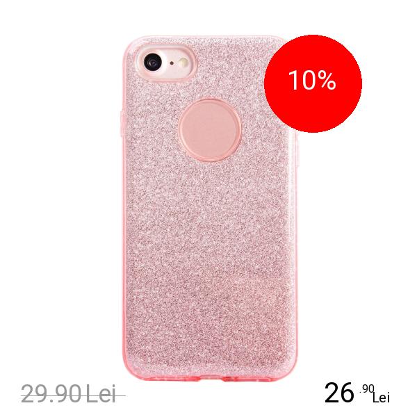 STAR Husa Capac spate Shine Roz Apple iPhone 7, iPhone 8