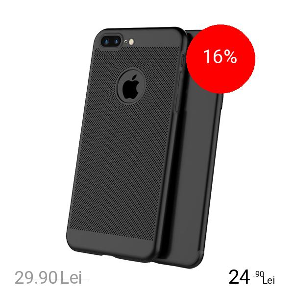 STAR Husa Capac spate Dot Negru Apple iPhone 7 Plus, iPhone 8 Plus