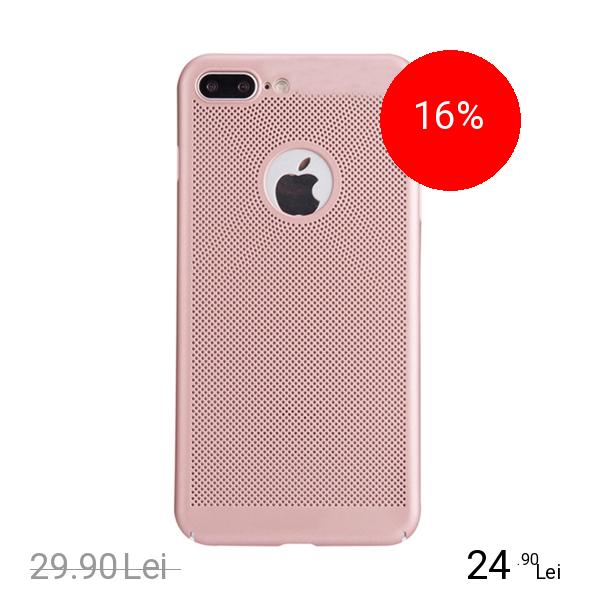 STAR Husa Capac spate Dot Roz Apple iPhone 7 Plus, iPhone 8 Plus