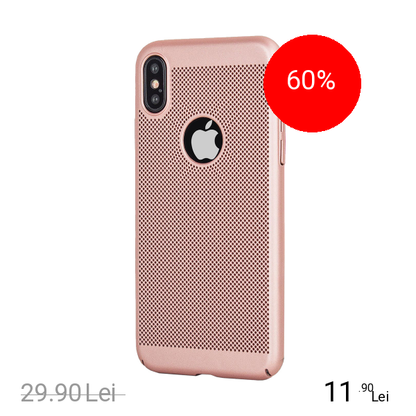 STAR Husa Capac spate Dot Roz APPLE iPhone X
