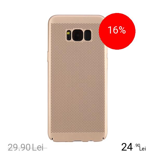 STAR Husa Capac spate Dot Auriu SAMSUNG Galaxy S8