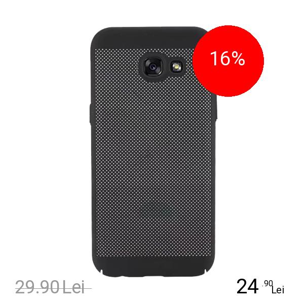 STAR Husa Capac spate Dot Negru SAMSUNG Galaxy A7 2017