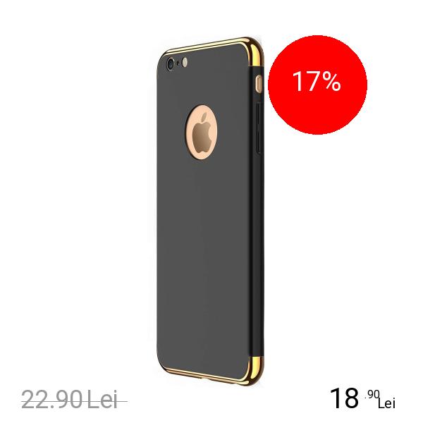 STAR Husa Capac spate Case Negru Apple iPhone 7, iPhone 8