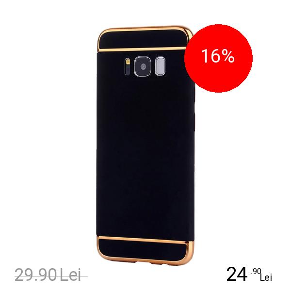 STAR Husa Capac spate Case Negru SAMSUNG Galaxy S8 Plus