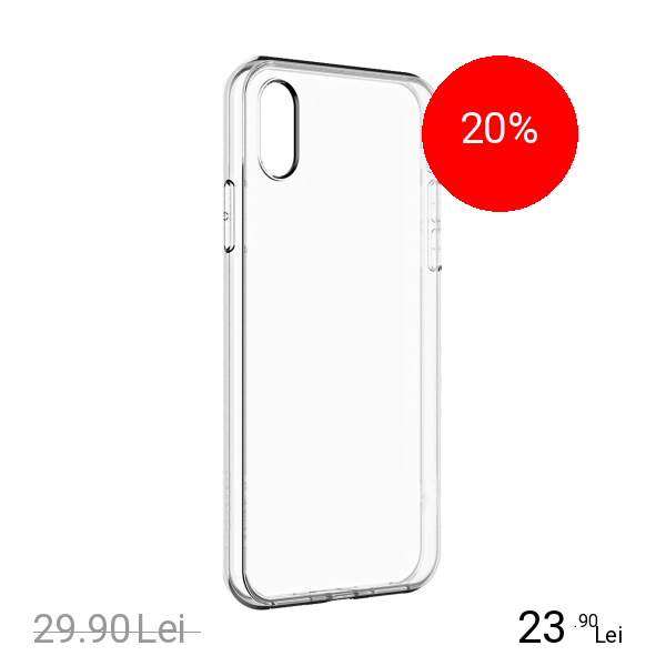 STAR Husa Capac spate Slim Transparent APPLE iPhone X