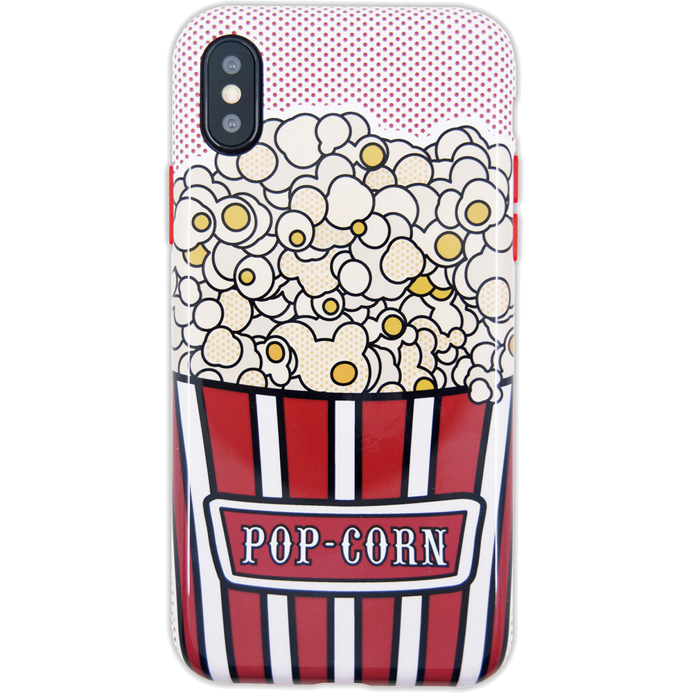 BENJAMINS Husa Capac Spate Pop Corn APPLE iPhone X