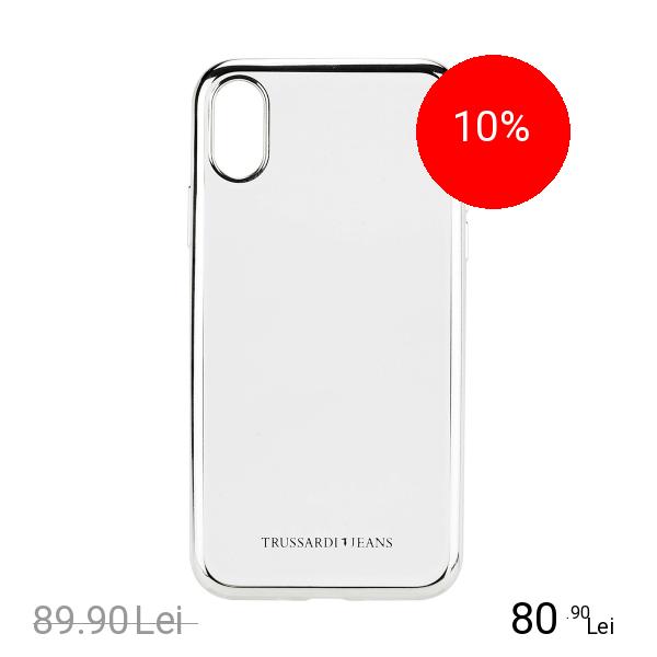 TRUSSARDI Husa Capac Spate Frame APPLE iPhone X