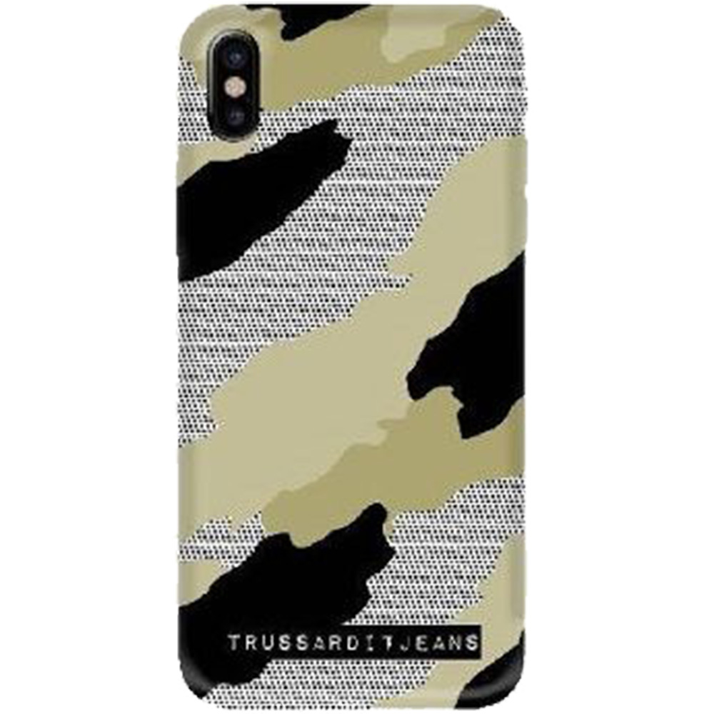 TRUSSARDI Husa Capac Spate Camouflage APPLE iPhone X