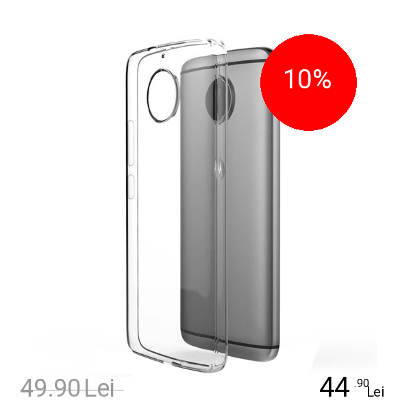 Motorola Husa Capac Spate + Folie De Protectie Transparent MOTOROLA Moto G5s Plus