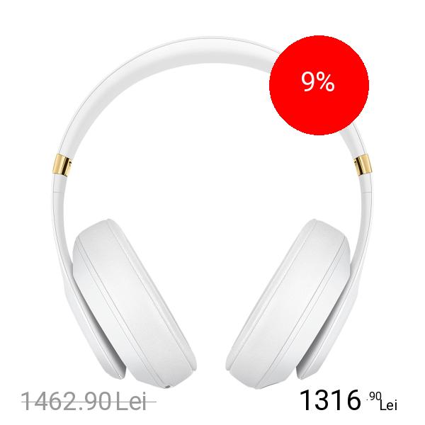 Beats Casti Wireless Studio 3 Alb