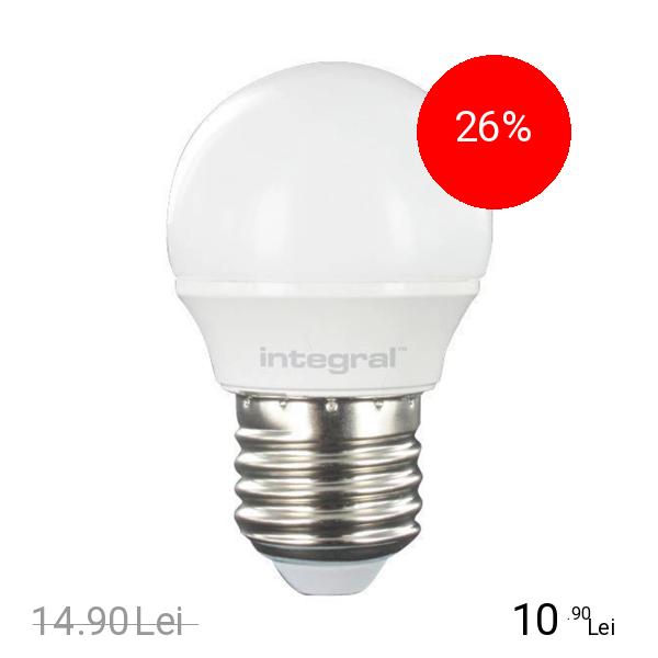 Integral Bec Led Mini Globe 3.4W 2700K 250L E27