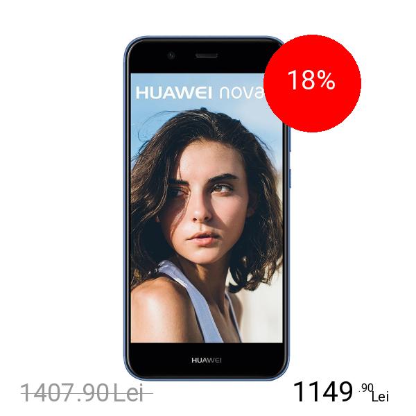 Huawei Nova 2 Dual Sim 64GB LTE 4G Albastru 4GB RAM