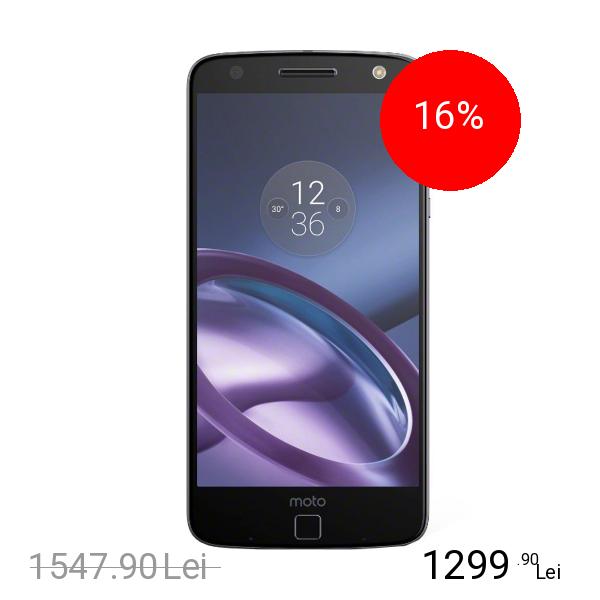 Motorola Moto Z Dual Sim 64GB LTE 4G Negru Roz 4GB RAM