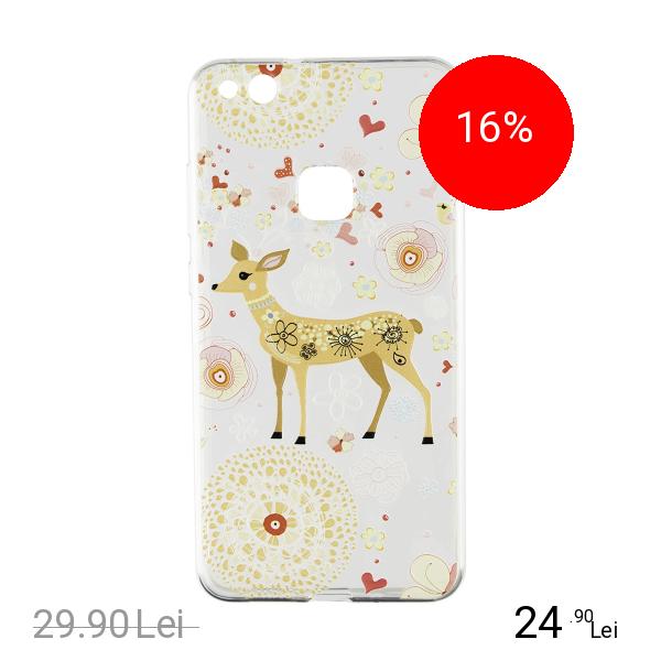 STAR Husa Capac Spate Bambi Transparent HUAWEI P10 Lite