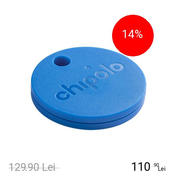 CHIPOLO Plus 2nd Generation Dispozitiv De Localizare Rezistent La Apa Albastru