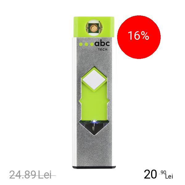 ABC Tech Bricheta Metalica Electronica USB Alb