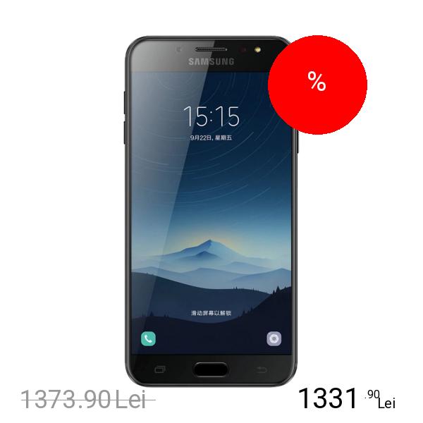 Samsung Galaxy C7 2017 Dual Sim 32GB LTE 4G Negru 4GB RAM