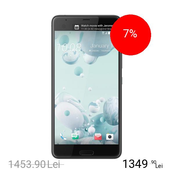 Htc U Ultra 64GB LTE 4G Alb 4GB RAM