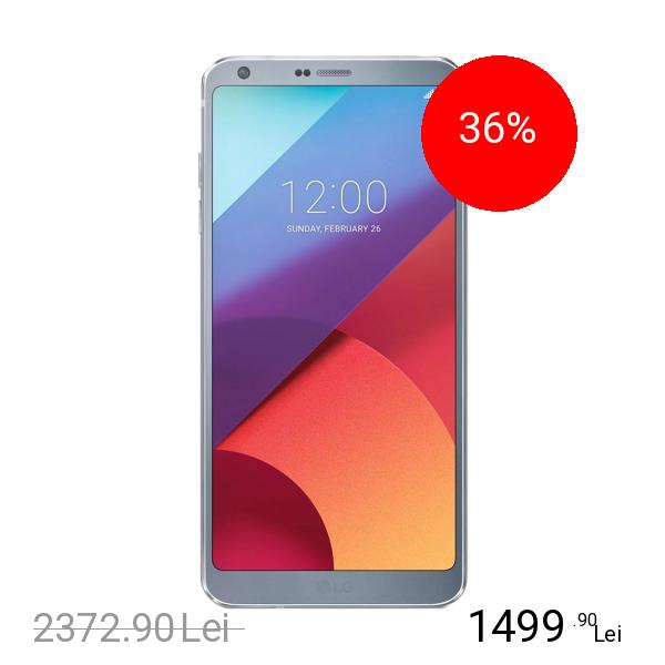 Lg G6 32GB LTE 4G Argintiu 4GB RAM