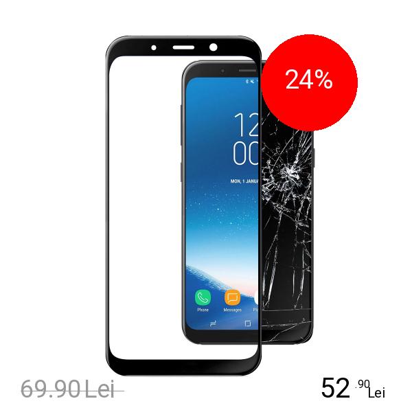 Cellularline Sticla Securizata Full Body Anti-Shock SAMSUNG Galaxy A8 (2018)