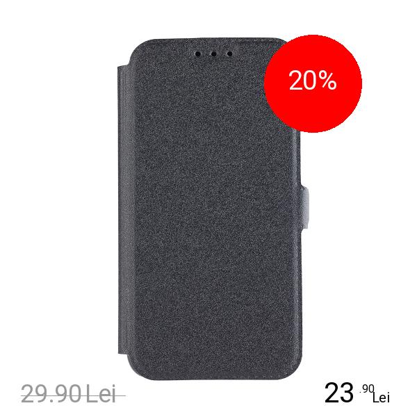 STAR Husa Agenda Pocket Negru SAMSUNG Galaxy A8 (2018)