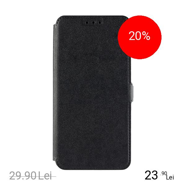 STAR Husa Agenda Pocket Negru SAMSUNG Galaxy A8 Plus (2018), XIAOMI Redmi Note 4