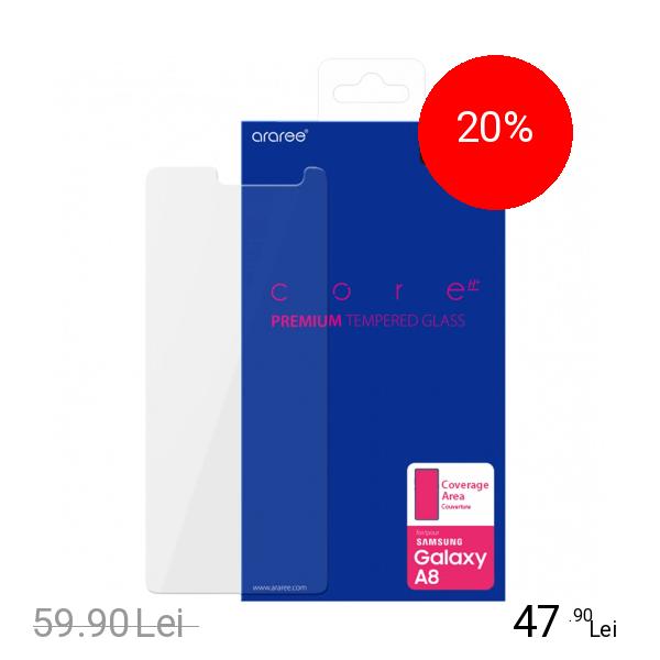 ARAREE Sticla Securizata Full Body Transparent SAMSUNG Galaxy A8 (2018)