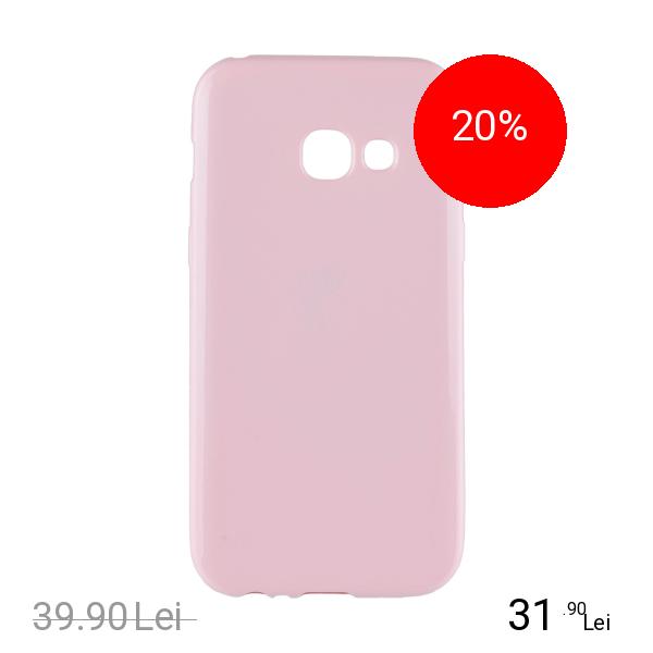 STAR Husa Capac Spate Jelly Roz SAMSUNG Galaxy A5 2017