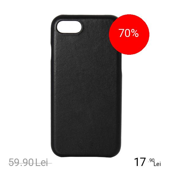 ZMEURINO Husa Capac Spate Negru Apple iPhone 7, iPhone 8